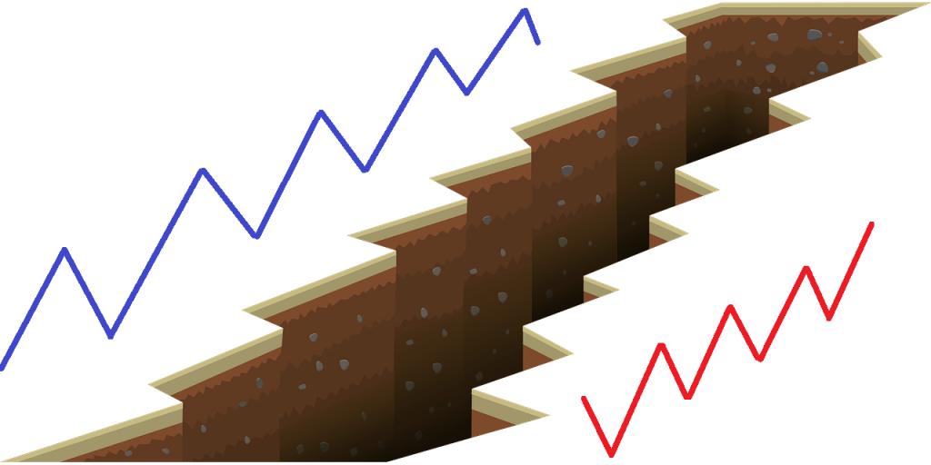 Bild-Gap-Graben