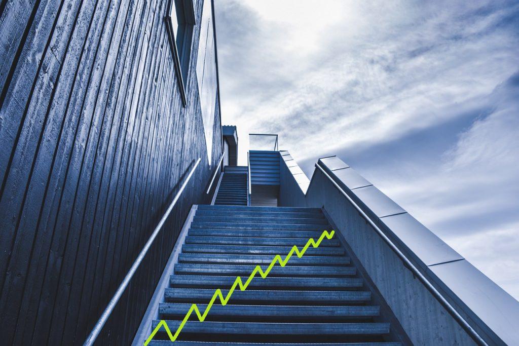 Bild-Treppenstufen-Technik